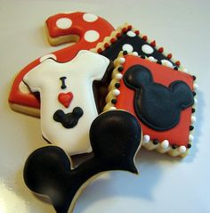 Mickey Mouse Cookies