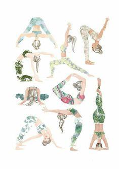 yoga quotes ~ yoga _ yoga poses for beginners _ yoga poses _ yoga fitness _ yoga inspiration _ yoga quotes _ yoga room _ yoga photography Yin Yoga, Yoga Positionen, Namaste Yoga, Yoga Art, Yoga Flow, Yoga Meditation, Vinyasa Yoga, Iyengar Yoga, Yoga Routine