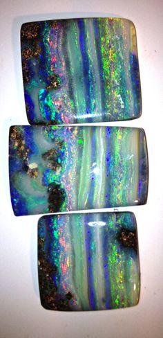 beautiful stripy boulder opal picture stones! Bill Kasso