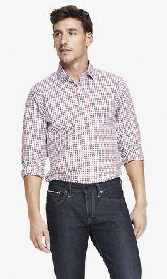 MODERN FIT PLAID DRESS SHIRT | Express  http://www.express.com//clothing/modern+fit+plaid+dress+shirt/pro/6039480/cat320006