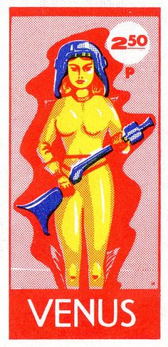 Postage stamp from Venus by wackystuff on Flickr.