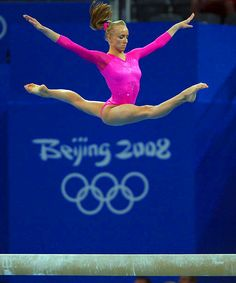 Nastia Liukin, 22, USA: '08 Olympic all-around champion. She's also won four all-around national titles, as well as 9 world championship medals. Both of her parents have won world championships in gymnastics.