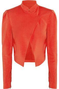 Alice   Olivia Morris stretch-ponte jacket   THE OUTNET