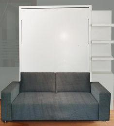 Wall bed with sofa from Murphy Sofa Vancouver