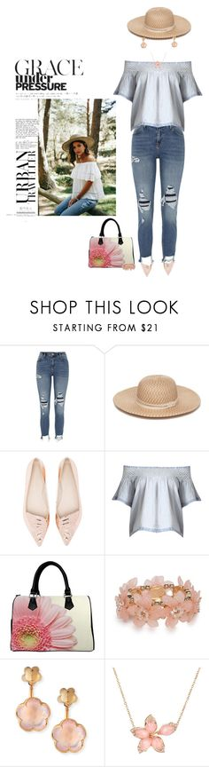 """""""Under Pressure"""" by chileez ❤ liked on Polyvore featuring River Island, Collection XIIX, Sophia Webster, New Directions, Pasquale Bruni and Stephen Webster"""