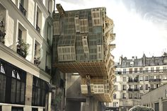 AME-LOT by Stephane Malka Architecture  Art meets architecture. Very cool.