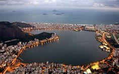 Lagoa Rodrigo de Freitas,Rio de Janeiro, Brazil