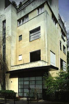 Villa Rue Mallet-Stevens, Paris, France  by Robert Mallet-Stevens in 1926