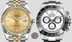 """The Race To #Baselworld is On!"" Sneak A Peek At The New: #Rolex Datejust 41 & Rolex Cosmograph Daytona with Ceramic Bezel  http://blog.elementintime.com/"