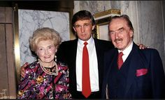 Donald with his parents, Fred & Mary Trump