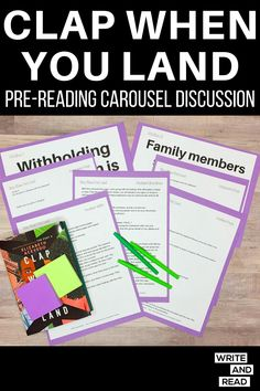 Pre Reading Activities, Fun Activities, Secondary Resources, Teaching Resources, High School Subjects, Controversial Topics, Carousel, Students, How To Remove