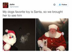 this might end badly if santa is her favorite TOY....