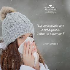 """""""La créativité est contagieuse faites la tourner !"""" - Albert Einstein Si vous voulez votre dose de virus (c'est de saison) n'hésitez pas à venir nous voir :D . . . #passion #inspiration #motivation #creativity #quote #citation #instamood #picoftheday #agenceweb #toulouse  #entreprise #company"""
