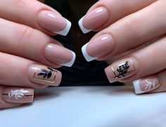 Uñas Elegant Nails, Stylish Nails, French Nails, Animal Nail Art, Pastel Nails, Nagel Gel, Beautiful Nail Designs, Perfect Nails, Toe Nails