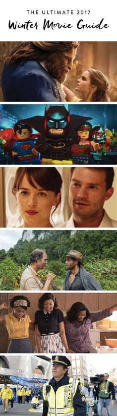 Here's a look at all the films you'll love this winter, Matthew McConaughey and Fifty Shades Darker included.