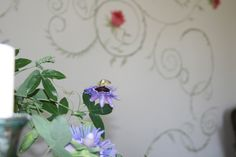 Cappelina Hand-painted wallpaper