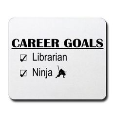 Librarian Career Goals Mousepad