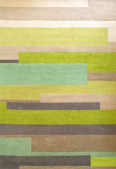Love the colors in this! Wovenground | Modern Rugs | Shutter Rugs £299