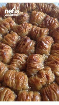 10 Minuets : Dagilan Burma Baklava in the Garden East Dessert Recipes, Appetizer Recipes, Desserts, Turkish Recipes, Indian Food Recipes, Ethnic Recipes, Cake Recipe Using Buttermilk, Turkish Sweets, Turkish Kitchen