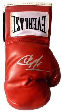 c5660c595 Sergey Krusher Kovalev Silver Autographed Everlast Boxing Glove with JSA  Cert