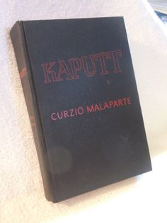 Kaputt By Curzio Malaparte 1946 Very Rare 1st Edition from $129.99