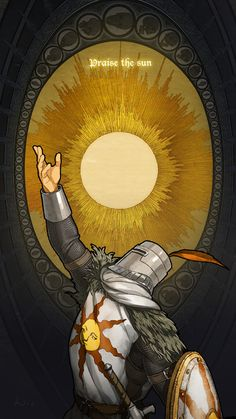 Solaire of Astora - Dark Souls 1 Dark Souls Solaire, Arte Dark Souls, Soul Saga, Bloodborne Art, Soul Tattoo, Praise The Sun, Dark Fantasy Art, Medieval Fantasy, Background Images