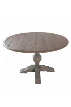 Round Elm table. Ellos.