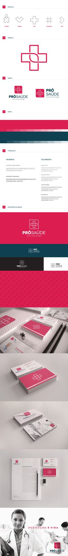 Branding Pró-Saúde on Behance