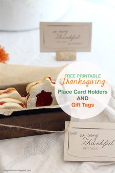 Place Cards Printable Place Cards And Thanksgiving On