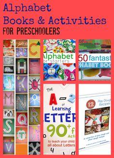 Alphabet Activities to Teach Preschoolers the alphabet.