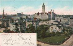 93195  Leipzig - Neues Rathaus v. der Wächterstrasse gesehen | Sammeln & Seltenes, Ansichtskarten, Deutschland | eBay!