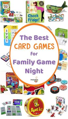 My family loves family game night which is pretty much every night for us. Here are our picks for the best card games for kids of all ages. Fun Games For Toddlers, Online Games For Kids, Math Activities For Kids, Learning Games For Kids, Fun Games For Kids, All Games, Games To Play, Mini Games, Fun Card Games