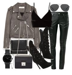 """""""Untitled #20656"""" by florencia95 ❤ liked on Polyvore featuring Yves Saint Laurent, Jakke, T By Alexander Wang, Kendall + Kylie, STELLA McCARTNEY, Dolce&Gabbana, Michael Kors and ROSEFIELD"""