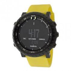 Relógio Men's Core Yellow Crush Digital Multi-Function Yellow Silicone #Relogios #Suunto