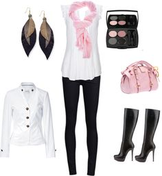 cute, created by v-boochoon on Polyvore  Very sexy and love the colors!