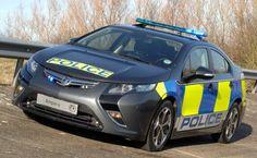 Scotland Yard Recruits Ampera PHEV for Police Work