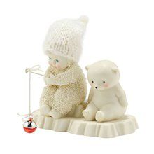 Department 56 Snowbabies Bait & Wait. Available at OurPamperedHome.com