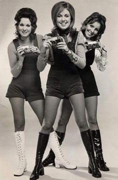 Retro Girls, Vintage Girls, Weird Fashion, 70s Fashion, Kodak History, Kodak Camera, Photographic Film, Hot Pants, The Guardian
