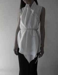 a'bout latest. warp blouse | gathered