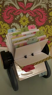 Altered rolodex-- <3
