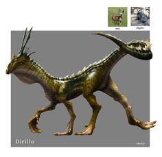 ArtStation - Random Creature Mashup Project #039 - Dirillo, Midhat Kapetanovic