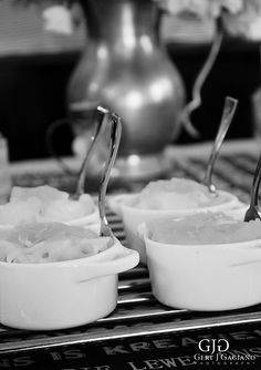 Kitchen Tea details at 2 Sisters. Individual Mac-n-cheese (Macaroni and cheese). #kitchentea #party #event #detail #photography #gertjgagiano