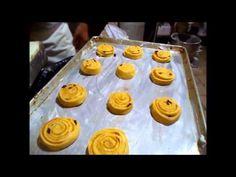 Rollos de Canela receta variedad de Pan de Dulce - YouTube