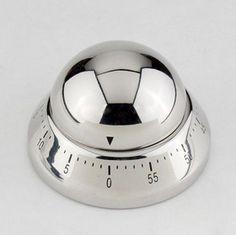 "Aspire 60-Minute ""Flying Saucer"" Stainless Steel Kitchen Timer  $6.99 #timer #kitchen #gift"