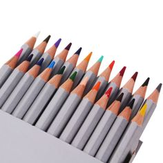 Pro 24/36 Colors Pencil Colored School Painting Drawing Art Craft Non-toxic - http://crafts.goshoppins.com/art-supplies/pro-2436-colors-pencil-colored-school-painting-drawing-art-craft-non-toxic/