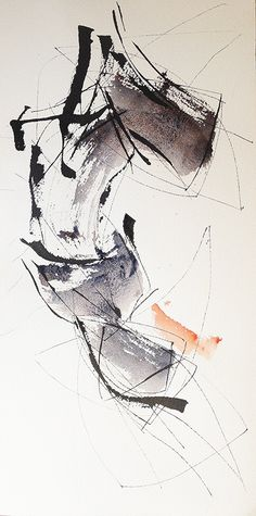 Josee Prudhomme - abstract calligraphy