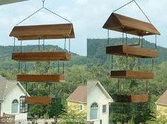 fly through bird feeder