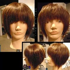This is the same haircut,  but before I added texture and after I added texture.  Texture can make a huge difference when used correctly.  #yxe #yxehair #yxesalon