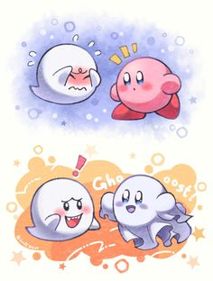 Kirby Character, Game Character, Cute Little Drawings, Cute Drawings, Kawaii Art, Kawaii Anime, Chibi, Kirby Memes, King Boo
