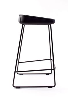 Auto Draft : leManoosh #Black Chair Furniture Leather Material Break Part Line Stitching Stool